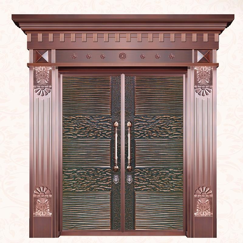 池州別墅子母銅門