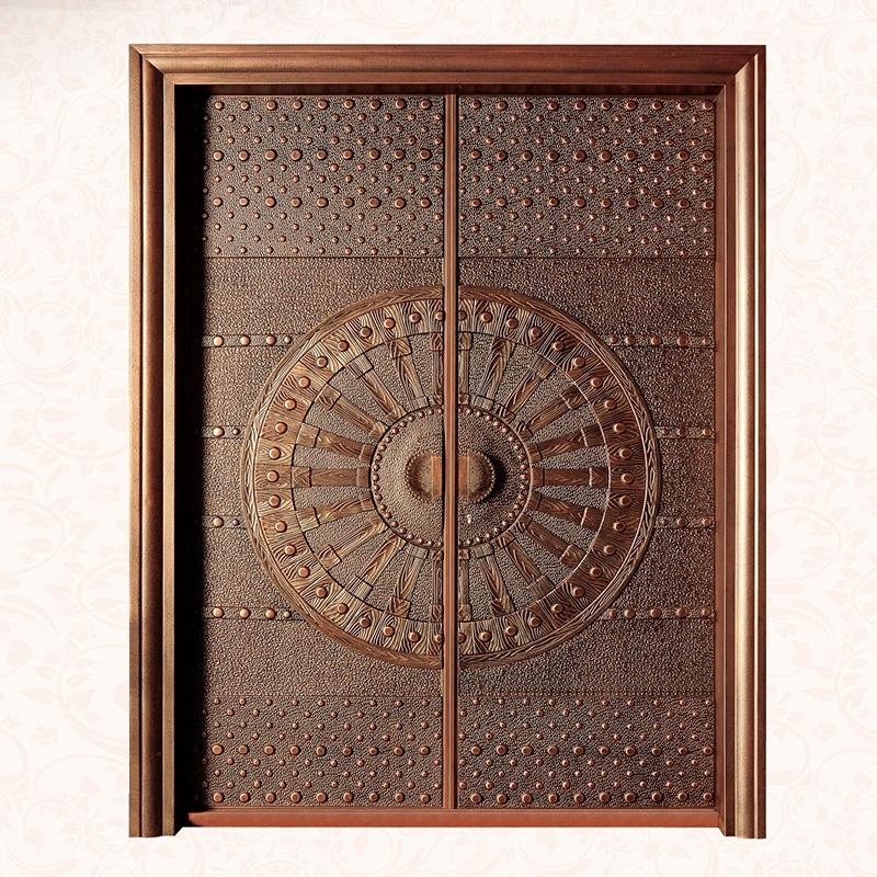 池州別墅歐式銅門